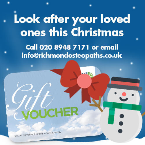 Dont forget to get your Christmas Gift Voucher!