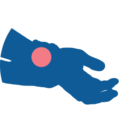 Icon for Repetitive Strain Injury (RSI)